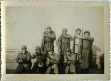 PHOTO ANCIENNE - VINTAGE SNAPSHOT -MILITAIRE ARME BAIONNETTE CASQUE WW1 SOLDAT 3