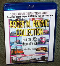 "20261 BLU-RAY HD TRAIN VIDEO ""ROGER KOENIG COLLECTION"" 5- DISC ROCK ISLAND"