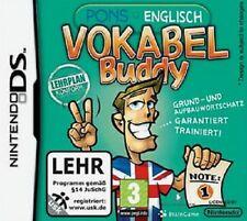FlashName Buddy Anglais Nintendo DS Jeu Anglais vocabulaire de jeux éducatifs flashName N