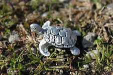 Hand Made in US Lead Free Pewter Turtle Figurine sea turtle Rustic Country Gift