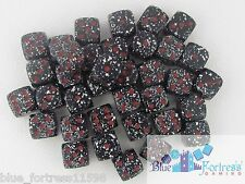 CHESSEX SPECKLED SPACE12mm 36 D6 DICE SET FOR MTG WoW WARHAMMER