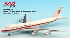InFlight500 Boeing Super Airbus Demo Colors JA8114 747-100 1:500 Scale Mint