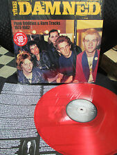The Damned Punk Oddities & Rare Tracks 1977-1982 Lp RED Vinyl Stab Your Back