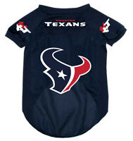 NEW HOUSTON TEXANS PET DOG MESH FOOTBALL JERSEY ALL SIZES ALTERNATE STYLE