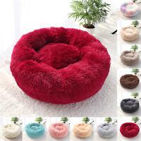 Cama Donut Perro Pequeño Mediano Grande Sofá para gatos Redonda Felpa 40-100cm