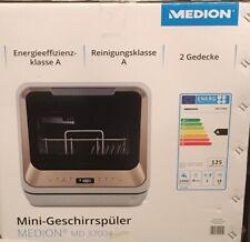 MEDION Mini-Geschirrspüler MD 37004 Spülmaschine Tischgeschirrspüler 6 Programme