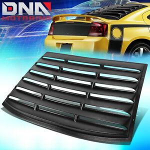 FOR 2006-2010 DODGE CHARGER ABS REAR WINDSHIELD LOUVER SUN SHADE COVER PANEL