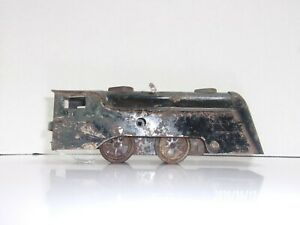 Vintage Rare Antique Marx Wind Up Tin Locomotive Train Engine O Scale