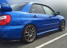 Subaru Impreza STi 2003-07 Side skirt Extensions & Rear Lips Sedan. HT Autos UK.