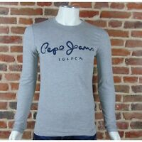 T shirt Pepe jeans Homme manches longues PM501O595 Gris