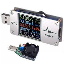 AVHzY USB Power Meter Tester Digital Multimeter USB Load Current Tester Voltage