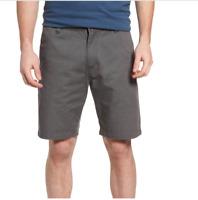 VOLCOM gray chino shorts VMONTY modern Stretch fit 30 31 32 33 34 36 38 40 42