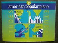 American Popular Piano Etudes Prep Book by Christopher Norton *NEW*