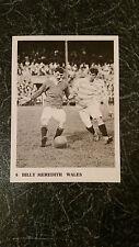 RARE FOOTBALL: TACCOLA CALCIO TRADE card #6 BILLY Meredith Manchester Utd Galles
