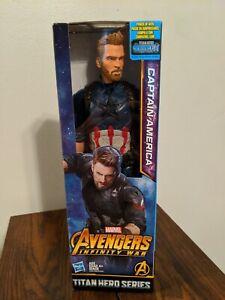 Avengers: Infinity War Titan Hero Series Captain America 12-Inch Action Figure