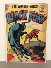 Black Fury The Wonder Horse March 1957 Comic Book #8 GD