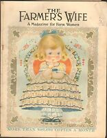 FEB 1927 FARMERS WIFE farm magazine - PRETTY GIRL w/DRESS