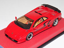 1/43 Looksmart Lamborghini Diablo SV Red 1995 on Leather Base Limited to 25