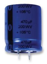 - Condensatori elettrolitici in alluminio-CAP ALU Elec 220uf 200v Snap in