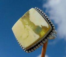 Bernstein Ring Gr. 17,75  Silber 925 !