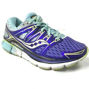 Saucony ISO Running Athletic Sneakers Shoes Women's 6 Blue