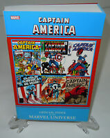 Captain America Official Index to Marvel Universe TPB Trade Paperback Brand New