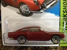 HOT WHEELS 2015-245 HW WORKSHOP THEN AND NOW ASTON MARTIN 1963 DB5 LW RED