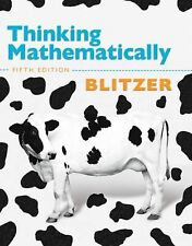 Thinking Mathematically, Fifth Edition by Blitzer, Robert F.