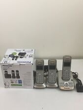 Panasonic KX-TG3683 Cordless Telephone Digital Answering System 3 Handsets.
