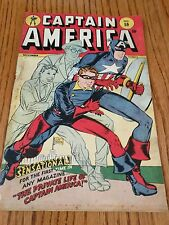 Captain America #59 Timely Golden Age