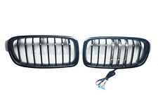 ABS 3 SERIES SPORT STYLE FRONT GRILLE (SINGLE FIN) GL B W.LED FOR 12-18 F30 F31