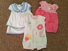 Mayoral newborn baby girl outfits, dress, romper, playsuit, 1-2 months