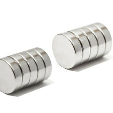 10 N35 Grade Super Strong 13mm Diameter x 3mm Thickness Neodymium Disc Magnets
