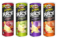 4 x NEW Pringles Rice Fusion Potato Chips - Peking Duck BBQ Hoisin Sauce = 640g