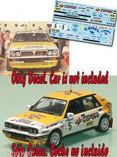 Decal 1:43 Fernando Capdevila - LANCIA DELTA - Rally El Corte Ingles 1989