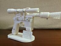 KIT DL-44 BLASTER HAN SOLO STAR WARS REPLICA 3D PRINTING COSPLAY 1:1 FULL