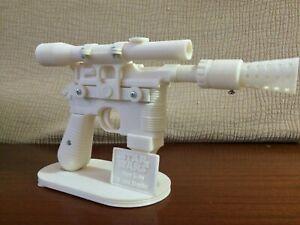 KIT DL-44 BLASTER HAN SOLO STAR WARS REPLICA 3D PRINTING COSPLAY 1:1 FULL