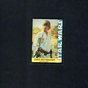 1977 TOPPS WONDER BREAD STAR WARS NO.1 LUKE SKY WALKER NMT-MT BEAUTY