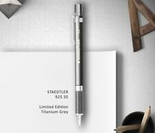 Staedtler 925 35 titanium gray mechanical drafting pencil limited edition