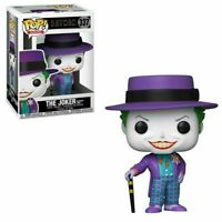 FUNKO POP! HEROES: BATMAN - THE JOKER (BATMAN 1989) #337 Toy Figure  IN STOCK