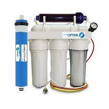 Osmoseur aquarium eau de mer avec déionisation et manomètre 100 GPD