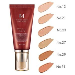 MISSHA M Perfect Cover BB Cream No. 13 / 21 / 23 / 27 / 29 / 31 - 50mL