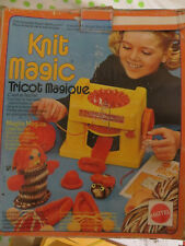 Knit Magic, Tricot Magique par Mattel - Cavahel Vintage