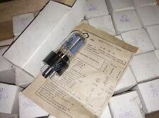 4x 6n8s / 6sn7/ 1578 tubes 1970'x NIB same codes