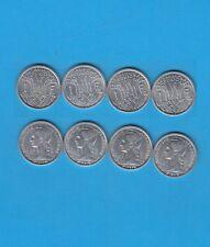 ° Ile de La Réunion  Lot de 4 x 1 Franc 1948, 1964, 1969 et 1971 Superbe qualité