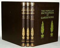 The Popular Encyclopaedia Of Gardening - 3 Volume Set - Hardback -  Waverley
