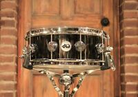 DW Collector's Series 5.5x14 Black Nickel Over Brass Snare Drum - B-Stock!