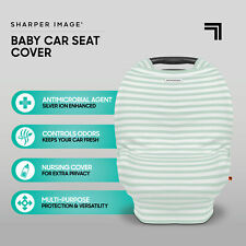 Baby Shopping Cart Cover Antimicrobial Multi Use Baby Seat Cover Striped