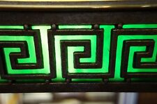 American Art Deco Period Bradley & Hubbard Greek Key Bronze Desk/Piano Lamp
