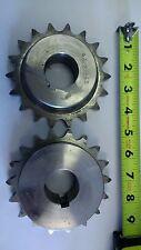 "60B18Ss Gear, 1.5"" bore, 60 chain,18 teeth,Stainless Steel, w/keyway & setscrews"